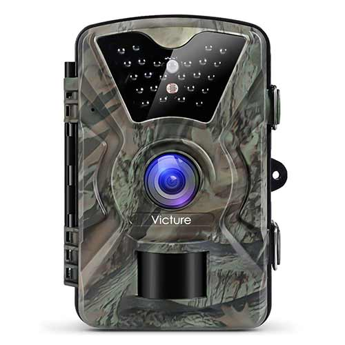 Best Trail Cameras under 150 1. Victure Trail Camera 1080P 12MP Wildlife Camera Motion Activated Night Vision 20m