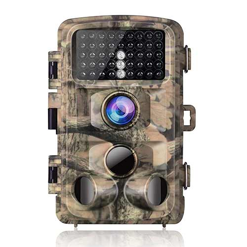 Best Trail Cameras under 150 5. Campark Trail Game Camera 14MP 1080P Waterproof Hunting Scouting Cam for Wildlife Monitoring