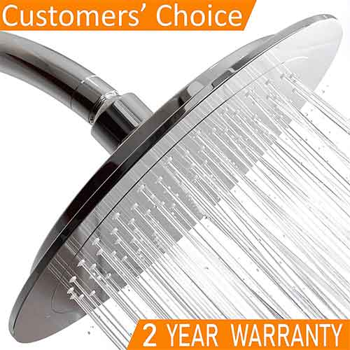 Top 10 Best Rain Shower Heads for Low Water Pressure in 2018 Reviews