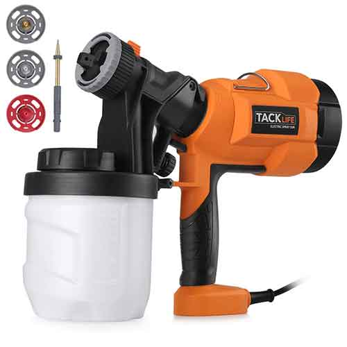 Best Paint Sprayers for Furniture 2. TACKLIFE Paint Sprayer 800ml/min