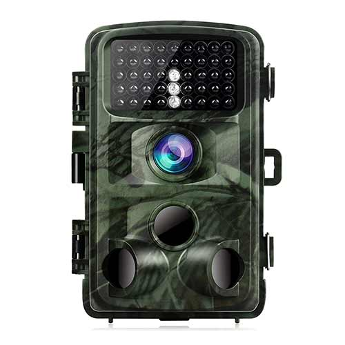 Best Trail Cameras under 150 2. TOGUARD Trail Camera 14MP 1080P Night Vision Game Camera Motion Activated Wildlife Hunting Cam 120° Detection with 0.3s Trigger Speed 2.4
