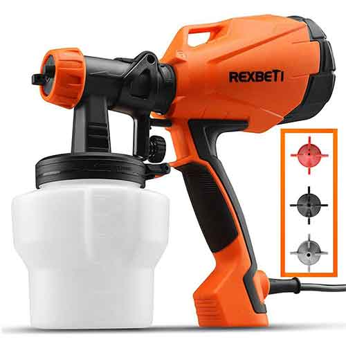 Best Paint Sprayers for Furniture 8. REXBETI Ultimate-750 Paint Sprayer