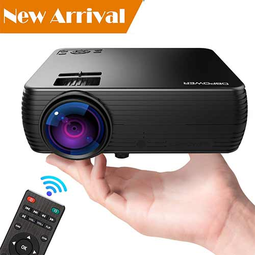 Best Mini Projectors under 100 10. Projector, DBPOWER Mini Portable Video Projector 176