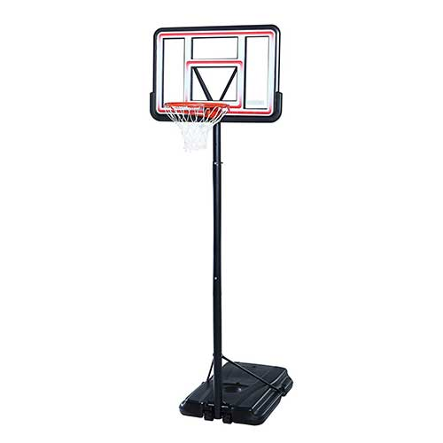 2. Lifetime 1269 Pro Court Height Adjustable Portable Basketball System