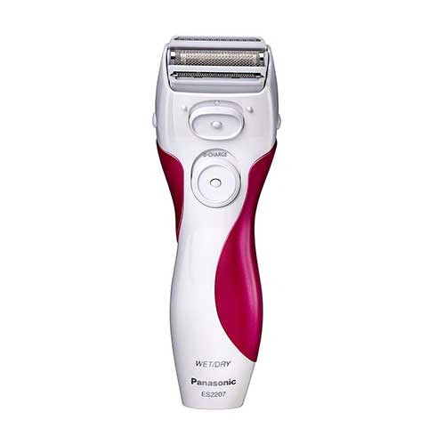Best Electric Shavers under 100 ​5. Panasonic ES2207P Ladies Electric Shaver, 3-Blade Cordless Women's Electric Razor