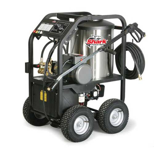 Best Commercial Pressure Washers 8. Shark STP-352007A 2,000 PSI 3.5 GPM 230 Volt Electric Hot Water Commercial Series Pressure Washer