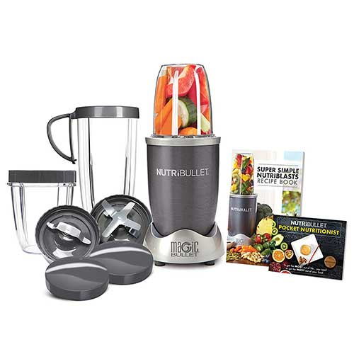Best Juicers for Greens 10. NutriBullet NBR-1201 12-Piece High-Speed Blender/Mixer System