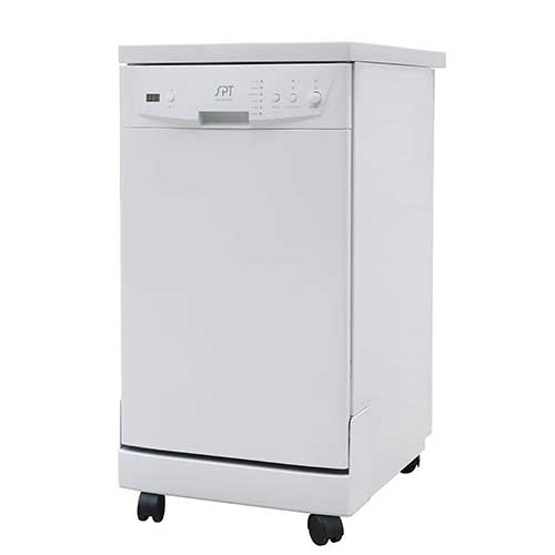 Best Dishwashers Under 400​ 3. SPT SD-9241W Energy Star Portable Dishwasher