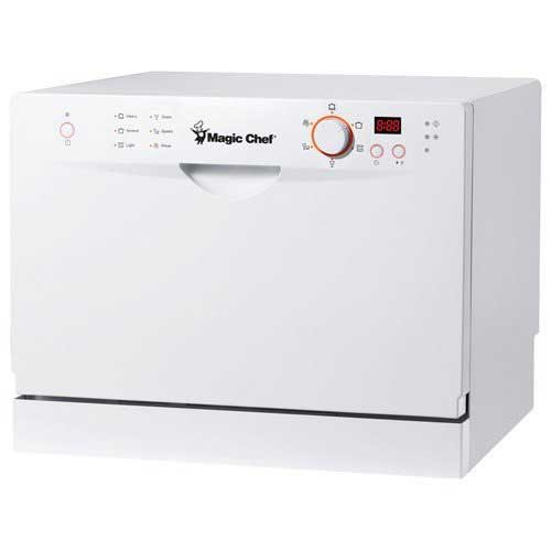 Best Dishwashers Under 400 10. Magic Chef MCSCD6W3 6 Place Setting Countertop Dishwasher