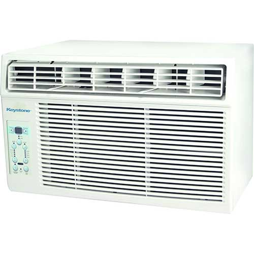 Quietest Window Air Conditioners 4. Keystone KSTAW10B 10,000 BTU 115V Window-Mounted Air Conditioner