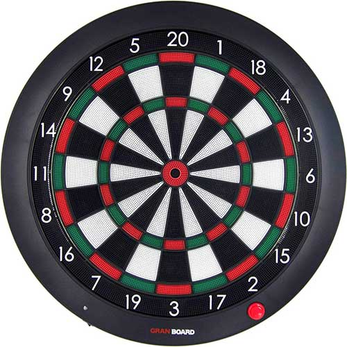 Best Electronic Dart Boards for Home 10. Gran Board 2 Bluetooth Electronic Dartboard