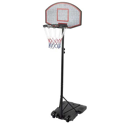 Best Portable Basketball Hoops Under 300 6. Sports God Height Adjustable Portable Youth Basketball Hoop System