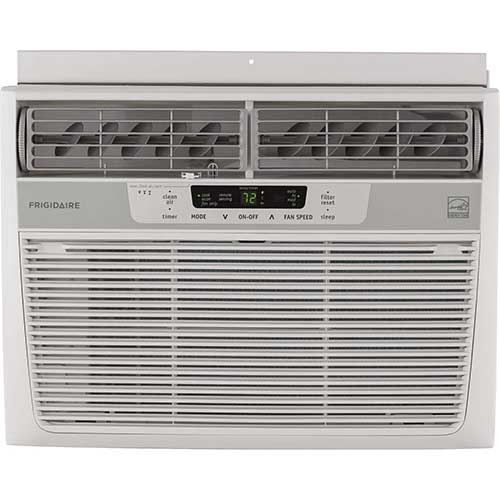 Quietest Window Air Conditioners 2. Frigidaire 10,000 BTU 115V Window-Mounted Compact Air Conditioner