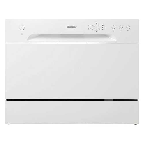 Best Dishwashers Under 400 ​2. Danby DDW621WDB Countertop Dishwasher
