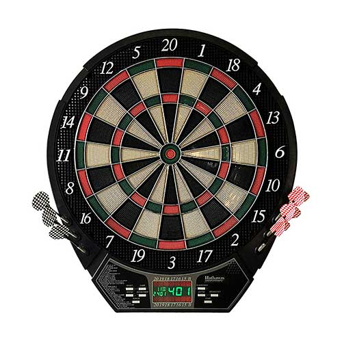 Best Electronic Dart Boards for Home 2. Hathaway Magnum Electronic Soft Tip Dartboard
