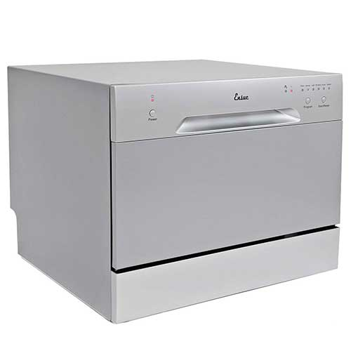 Best Dishwashers Under 400 9. Ensue Countertop Dishwasher Portable Compact Dishwashing Machine Silver