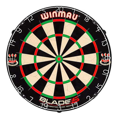 Best Electronic Dart Boards for Home 4. Winmau Blade 5 Bristle Dartboard