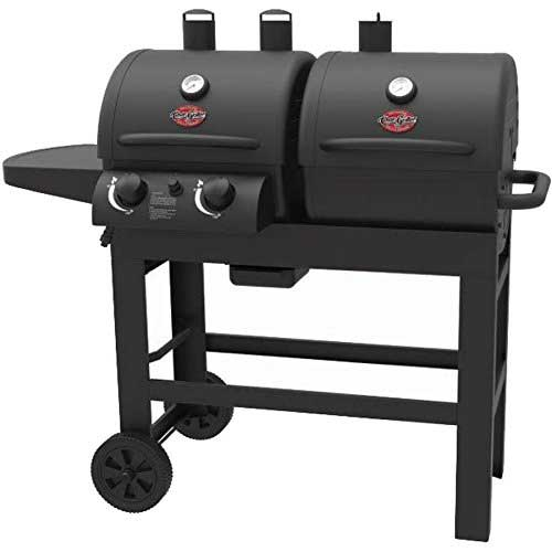 Best Smoker Grill Combo 9. Char-Griller Dual 2 Burner Charcoal and Gas Grill