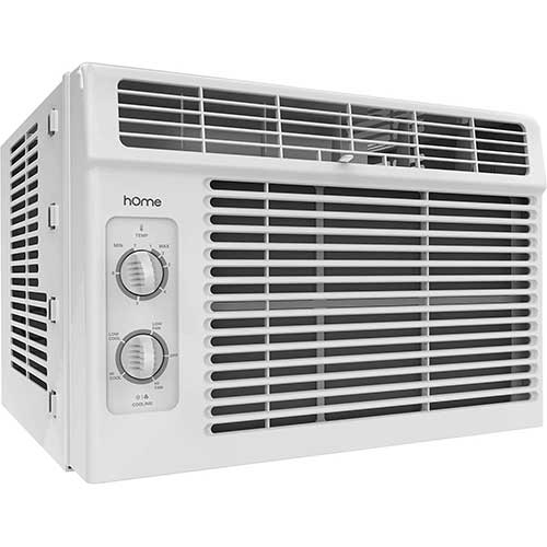 Quietest Window Air Conditioners 1. hOmeLabs Window Air Conditioner - 5000 BTU AC Unit