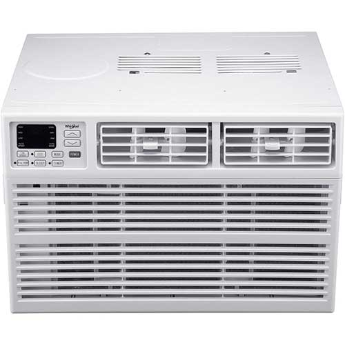 Quietest Window Air Conditioners 5. Whirlpool Energy Star 12,000 Btu 115V Window-Mounted Air Conditioner