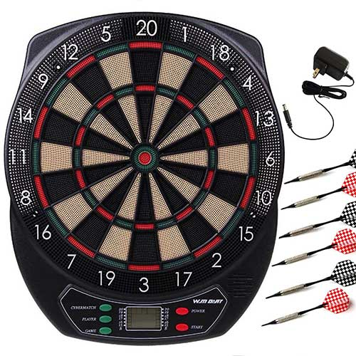 Best Electronic Dart Boards for Home 1. WIN.MAX Electronic Soft Tip Dartboard Set
