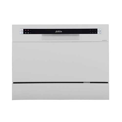 Best Dishwashers Under 400 8. Sunbeam DWSB3602GSS Compact Countertop Dishwasher
