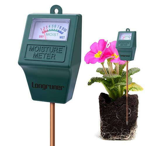 Best Moisture Meters for Plants 6. Longruner Moisture Meter, Indoor/Outdoor Soil Moisture Sensor Meter