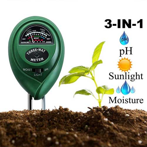 Best Moisture Meters for Plants 10. Diiker Soil pH Meter Soil test kit