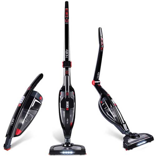 Best Cordless Stick Vacuums for Pet Hair 6. HoLife 2-in-1 Cordless Stick Vacuum Cleaner Handheld Vacuum