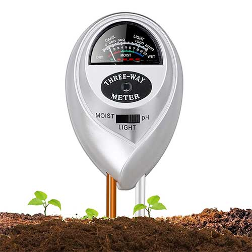 Best Moisture Meters for Plants 4. Jellas Soil Moisture Meter