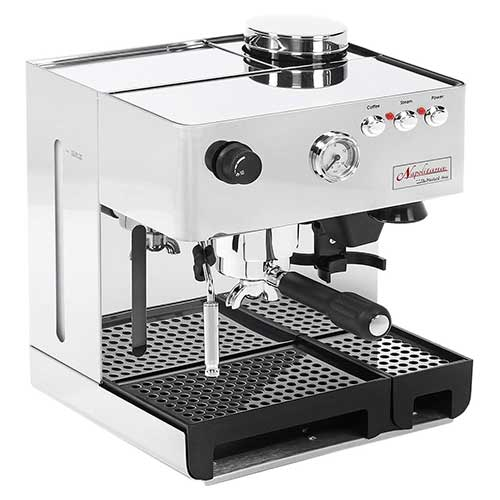 Best Commercial Super Automatic Espresso Machines 6. La Pavoni PA-1200 Napolitana Stainless Steel Automatic Espresso Machine