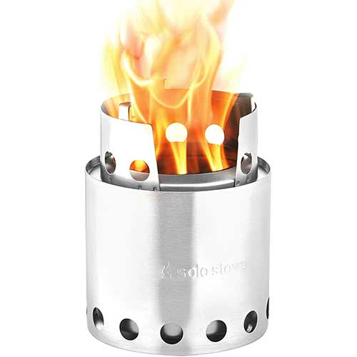 Best Wood Burning Backpacking Stoves 3. Solo Stove Lite - Compact Wood Burning Backpacking Stove