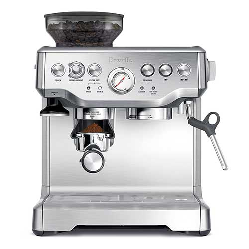 Best Super Automatic Espresso Machines Under 1000 2. Breville BES870XL Barista Express Espresso Machine