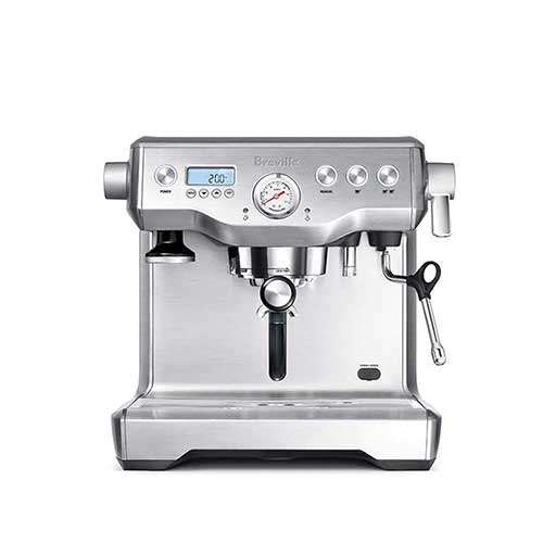Best Super Automatic Espresso Machines Under 1000 8. Breville BES920XL Dual Boiler Espresso Machine