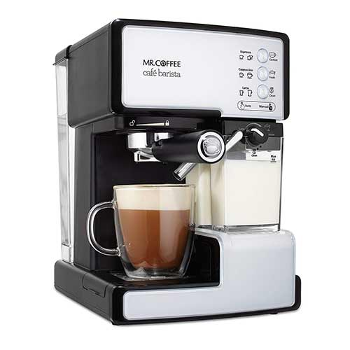 Best Super Automatic Espresso Machines Under 1000 6. Mr. Coffee BVMC-ECMP1102 Cafe Barista Espresso and Cappuccino Maker