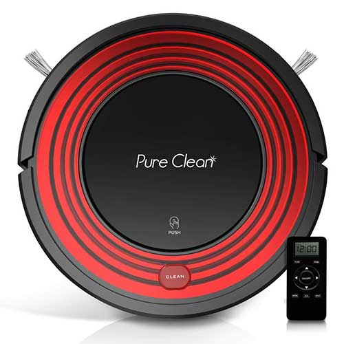 Best Roombas for Pet Hair 8. Automatic Programmable Robot Vacuum Cleaner PUCRC95