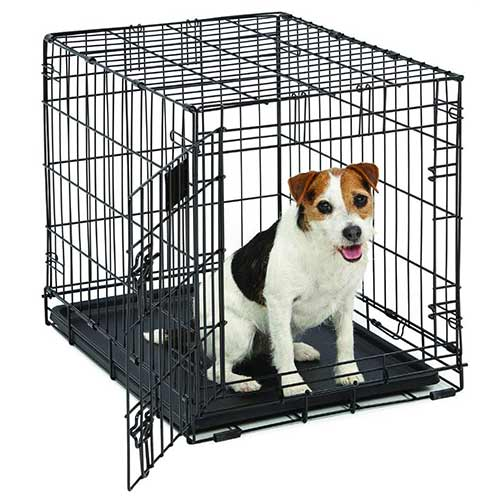 Best Dog Crates for Separation Anxiety 2. MidWest Life Stages 24