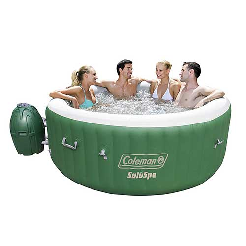 Best plug and play Hot Tubs 2. Coleman SaluSpa Inflatable Hot Tub