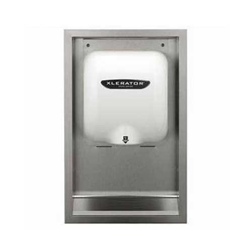 Best Hand Dryers for Schools 6. Xlerator White Hand Air Dryer XLBW, Commerrcial-Grade High-Speed Automatic Xlerator Bathroom Hand Dryer Blower