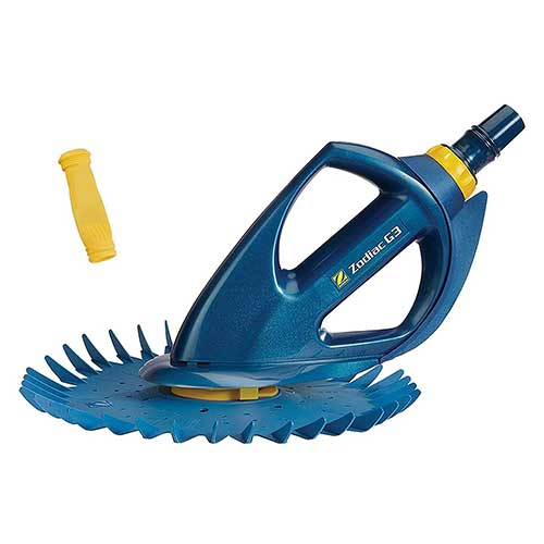 Best Suction Pool Cleaners 2. Zodiac BARACUDA G3 W03000 Advanced Suction Side Automatic Pool Cleaner with Additional Diaphragm