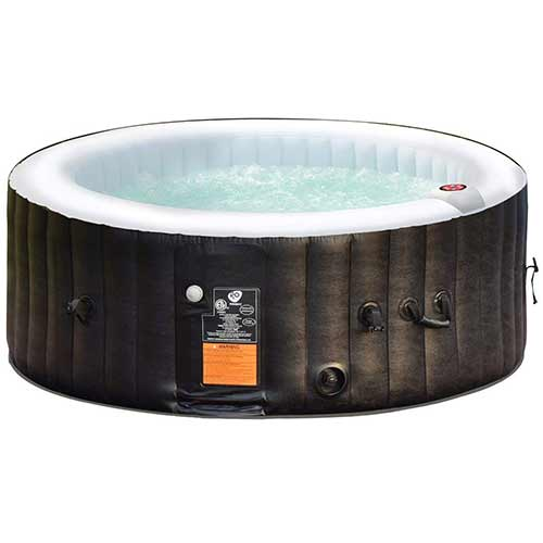 Best plug and play Hot Tubs 4. Goplus 4-6 Person Outdoor Spa Inflatable Hot Tub