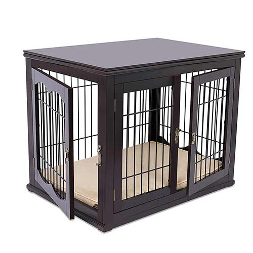 Best Dog Crates for Separation Anxiety 7. Internet's Best Wood & Wire Dog Crate