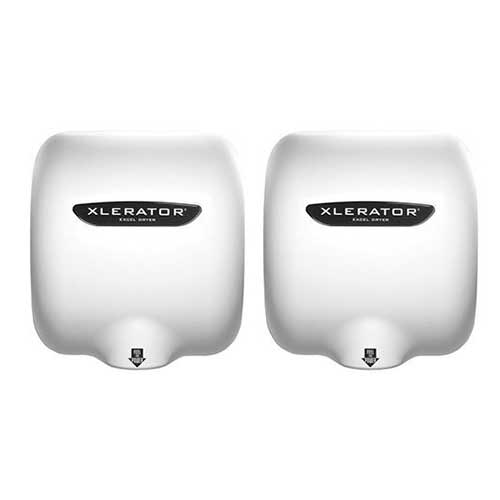 Best Hand Dryers for Schools ​3. Excel Dryer XLERATOReco XL-BW-ECO 1.1N High Speed Automatic Dryer