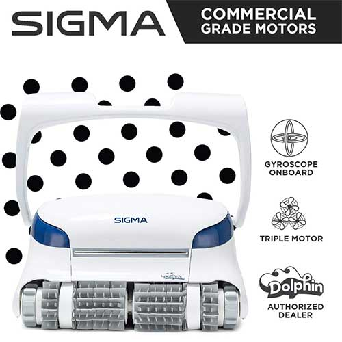 Best Suction Pool Cleaners 9. Dolphin Sigma Robotic Pool Cleaner
