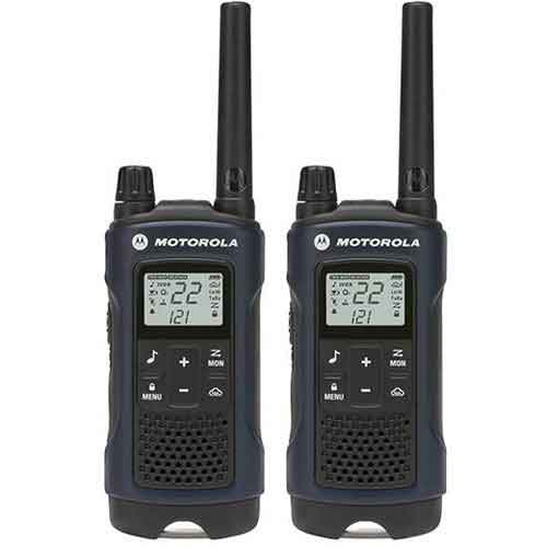 Best Two Way Radios for Mountains 8. Motorola 22-Channel Weatherproof 35 mile Range Two Way Radio