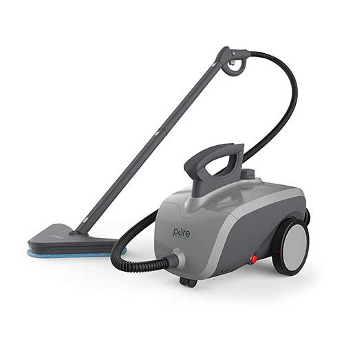 Best Heavy Duty Steam Cleaners 4. Pure Enrichment PureClean XL Rolling Steam Cleaner - 1500-Watt Multi-Purpose Household Steam Cleaning System