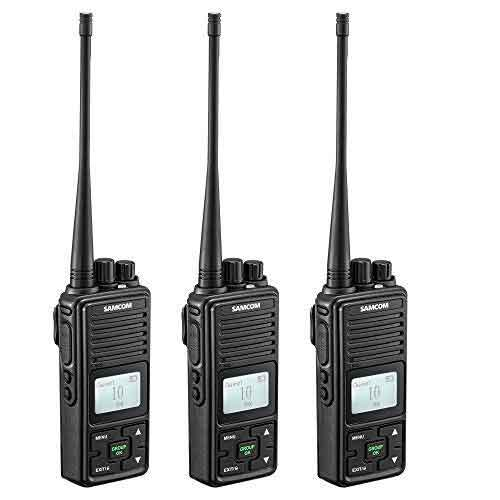 Best Two Way Radios for Mountains 5. SAMCOM 2 Ways Radio Long Range Samcom FPCN10A GMRS Walkie Talkie