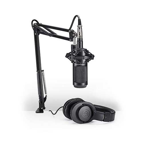 Best Mic for Vocals Under 200 4. Audio-Technica AT2035 Large Diaphragm Studio Condenser Microphone