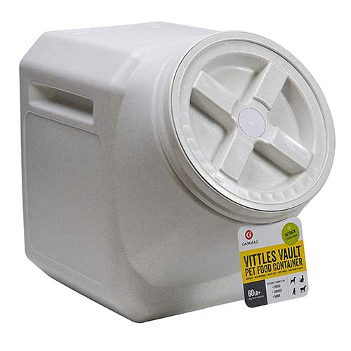 Best Dog Food Storage Container 2. Vittles Vault Airtight Stackable Pet Food Container
