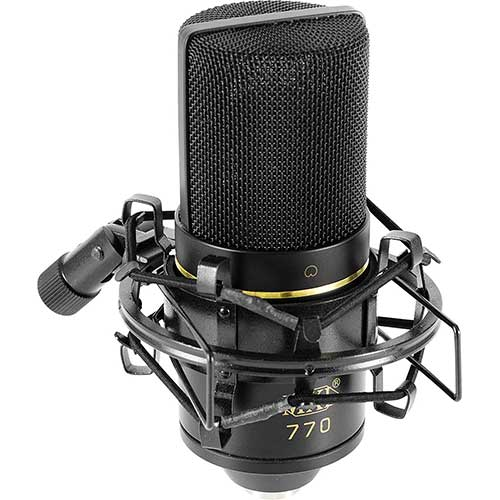 Best Vocal Condenser Mics Under 200 1. MXL 770 Cardioid Condenser Microphone